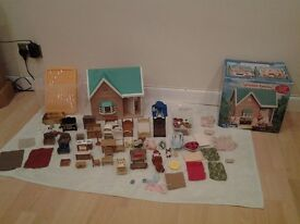 Sylvanian families House & Accessories Excellent Condition
