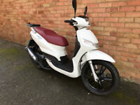 PEUGEOT TWEET 125 WHITE 2016 LOW MILES