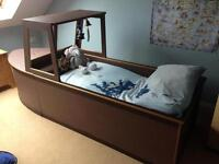 Single or Toddler Pirate Boat Bed