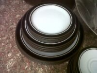 Dinnerware Tableware Hornsea Contrast like Denby retro 1970's
