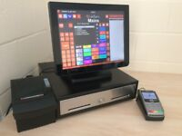 ★ Epos Pos Touchscreen Till Ideal Bar / Pub, Restaurant, Hotel, Bistro, Clubs, Casino, Nightclub