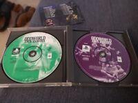 PlayStation 1 oddworld Abe's exodus mint