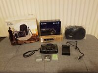 Canon PowerShot SX720 HS Digital Camera, 20.3 MP, With Travel Kit, USB Charger and Extra Batteries