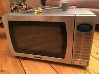 Panasonic NNA772 silver microwave combination oven grill