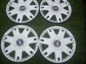 Wheel trims Genuine Ford 15 inch set of 4