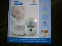 TOMY DIGITAL BABY MONITOR - Digital TF525 BRAND NEW IN BOX.