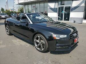 2015 Audi A5 Technik Quattro AWD Convertible S-Line Performance