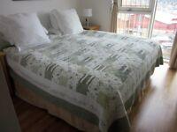 Superb Divan Bed. VISPRING THE HERALD> Super king size. Excellent condition.