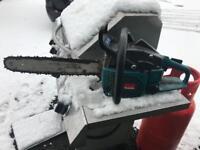 Makita chainsaw 18 inch