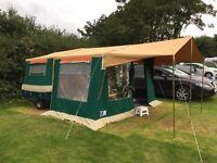 Raclet Solena 2 Berth Trailer Tent