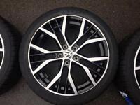 """Vw golf Santiago 18"""" alloy wheels new"""