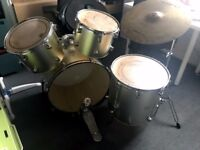 Full size drum kit, missing parts