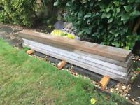 Gravel boards x 6 for sale