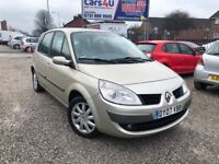 07 RENAULT SCENIC 1.6 PETROL IN GOLD *PX WELCOME* MOT TILL OCTOBER 2018 £1295