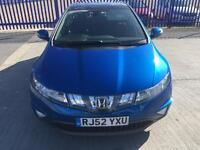 2007 HONDA CIVIC 1.8 SERVICE HISTORY NEW MOT