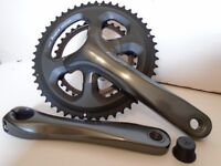 SHIMANO TIAGRA 4700 CHAINSET, 50/34T, 172.5mm **NEW ! ! ** 50% LESS THAN R.R.P. ! ! **