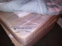 one year old double bed and mattress in Tottenham used bed and used matress