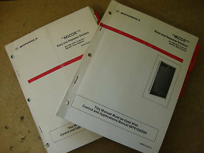 Motorola Micor 800mhz Base Repeater Sta. Manual 306