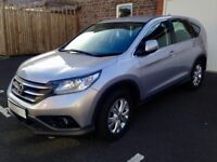 Honda Cr-V 2.2 i-DTEC SE 4x4 5dr. Excellent condition, low mileage. Tow bars front/back