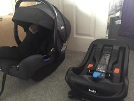 Joie I-Gemm Car Seat and Isofix Base