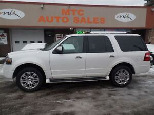 2012 Ford Expedition Limited, 7 PASSENGER, LEATHER, DVD, SUNROOF