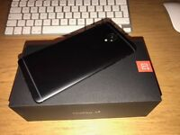 OnePlus 3T - 128GB - Midnight Black - Duel Sim - Brand new condition - Unlocked - Limited Edition