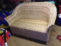 Wicker Sofa Seat - 2 person