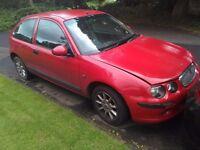 2003 03 Red Rover 25 1.4 Petrol 3 Door