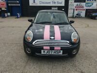 2007 mini 1.4 drives superb