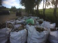 Hardwood firewood ash hawthorn beech