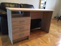 Oak Effect Desk (like new)