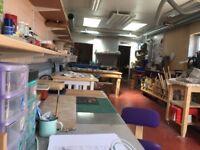 Art Studio or Workshop Space in central Bagshot