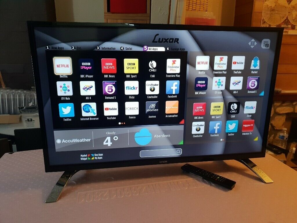 NEW & BOXED LUXOR 43 Inch 4K HDR Ultra HD Smart TV with Freeview Play, GOOD  CONDITION | in Salford, Manchester | Gumtree