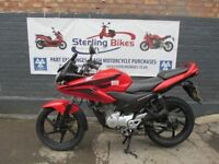 HONDA CBF 125cc RED COLOUR MODEL 2009
