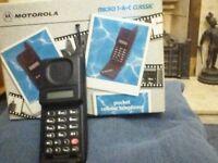 Motorola T.A.C Classic Flip Phone
