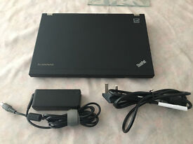 "Lenovo Thinkpad x230 core i5 @ 2.60ghz (320GB HD, 4Gb RAM) 12.5"" screen with Wifi & Camera"