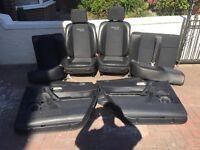 Renault Megane sport seats full set for 5 door