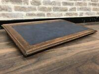 Victorian Oak Writing Desk Slope
