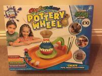 Childrens craft pottery wheel