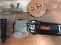 NU-Tool 600w Angle Grinder. With Diamond Cutting Blade.