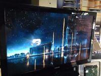 50 inch plasma TV Samsung ps50b430p2w with remote control