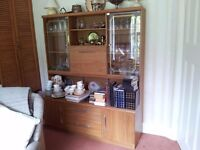 Living / Dining Storage and Display Unit - wood effect £25
