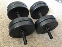 Dumbbell weights 20 kg