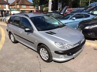 2005/05 PEUGEOT 206SW 2.0 HDI S 5 DOOR (A/C) ONE OWNER IN GREAT CONDITION,ECONOMICAL TO RUN