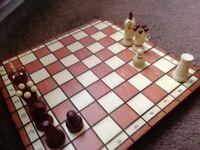 Wooden chess set - brand new