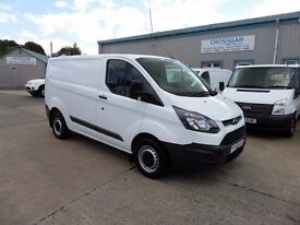 FORD TRANSIT CUSTOM 290 SWB SEP 2014 48250 MILES ONE OWNER