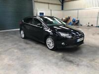 2012 Ford Focus zetec 1.6tdci 5dr £20 road tax 6speed guaranteed cheapest in country
