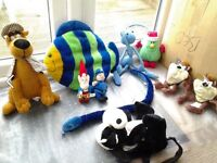 SELECTION OF SOFT TOYS FOR SALE. OFFICIAL FLIK FROM ANTZ FILM. BEDROOM. NURSERY. COLLECTABLES