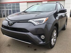 2016 Toyota RAV4 LTD. 23,456 KM, ONE OWNER, LEASE RETURN