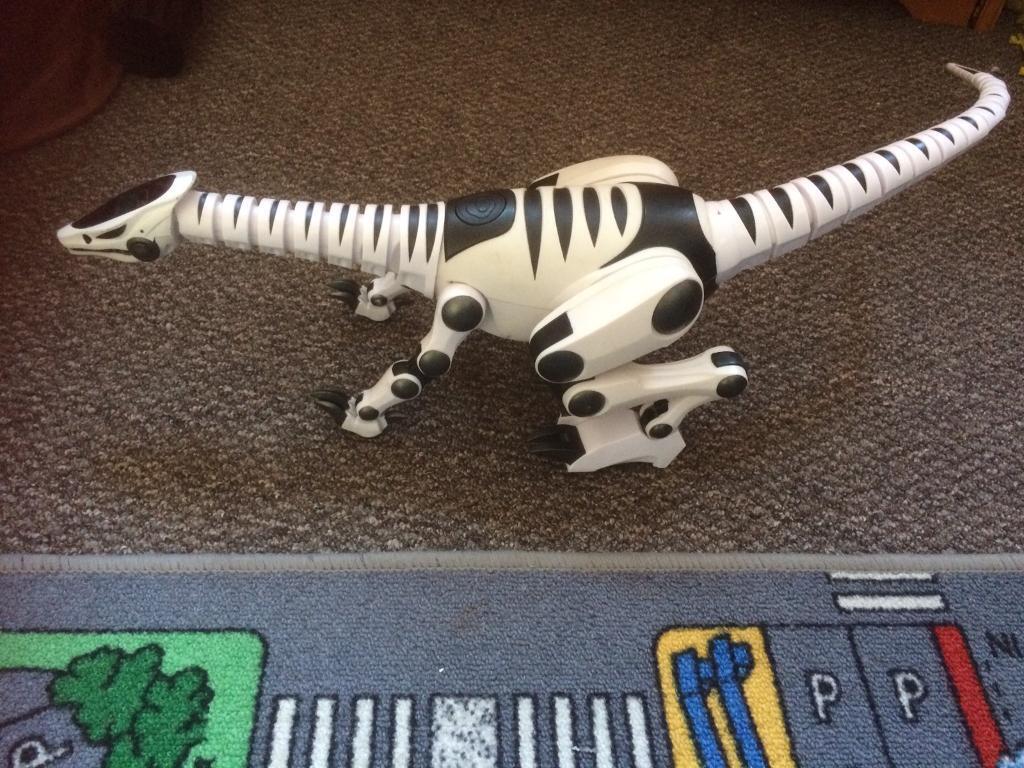 Childs moving dinosaur